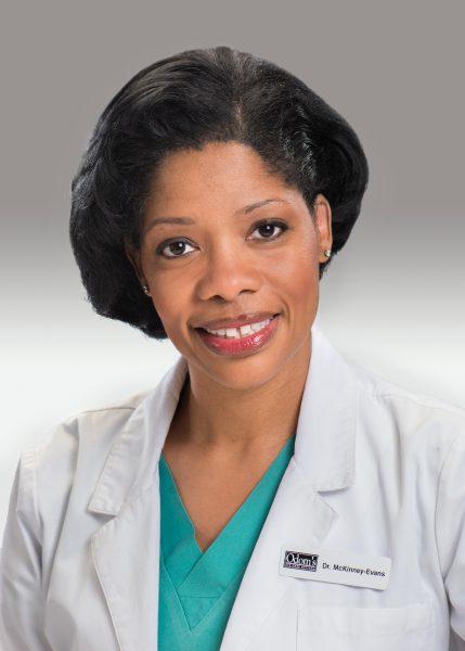 Doctor McKinney-Evans, OD